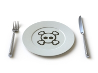 toxic on plate